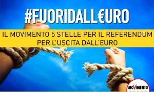 Fuori dall'euro  Banner due